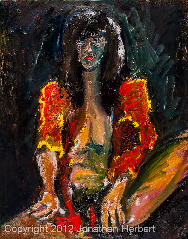 naked girl, oil painting, Jonathan Herbert, BC NIXON 11o17 latest version 2011o0017.jpg