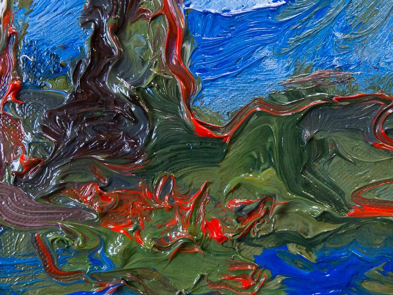 Jonathan Herbert landscape oil painting
